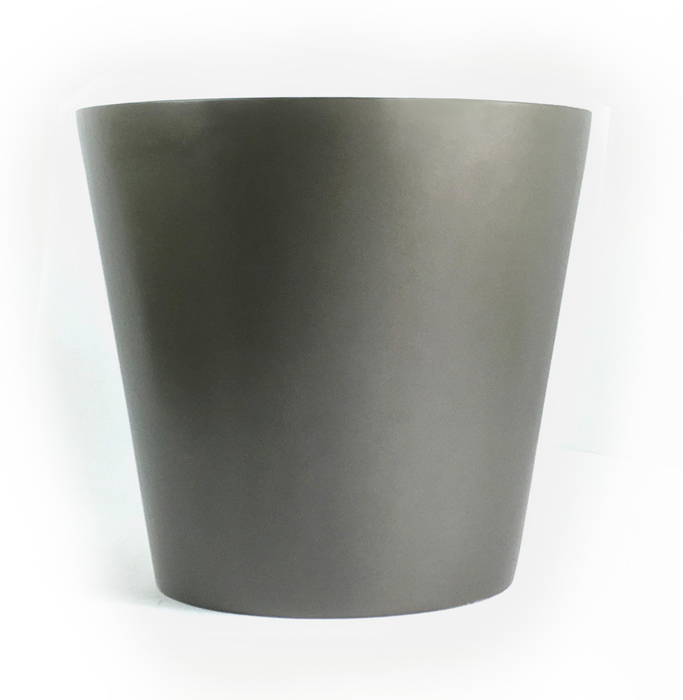 Tapered Round Fiberglass Container