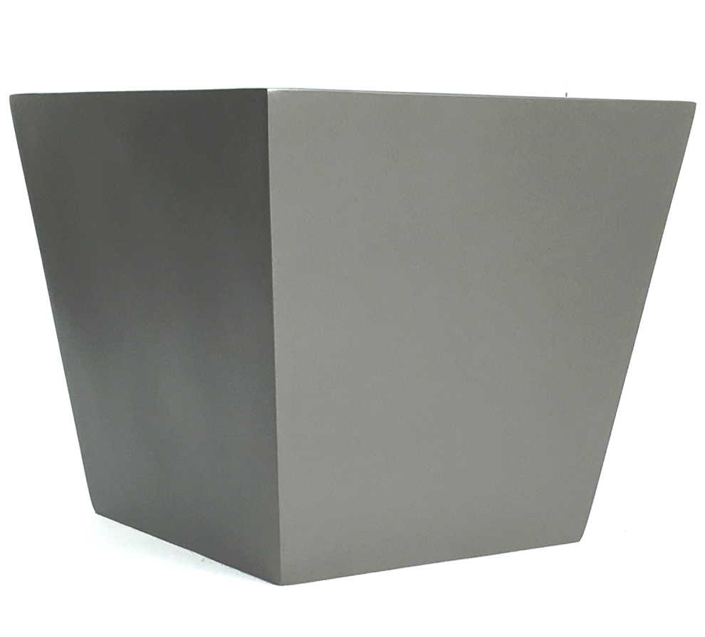 Tapered Square Fiberglass Container