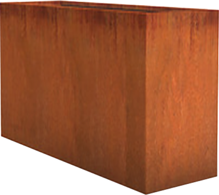 Corten Steel Planter Rectangle