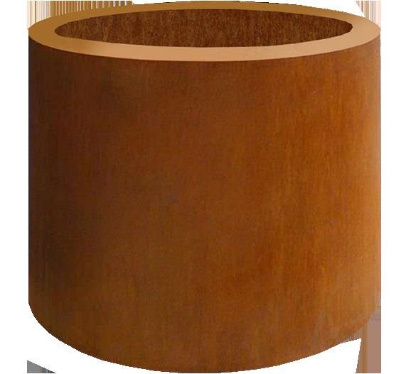 Corten Planter Cylinder