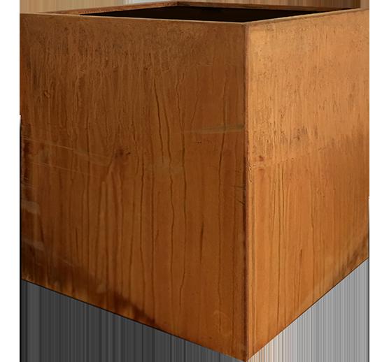 Corten Planter Cube