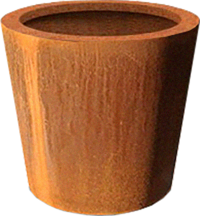 Corten Planter Barrel