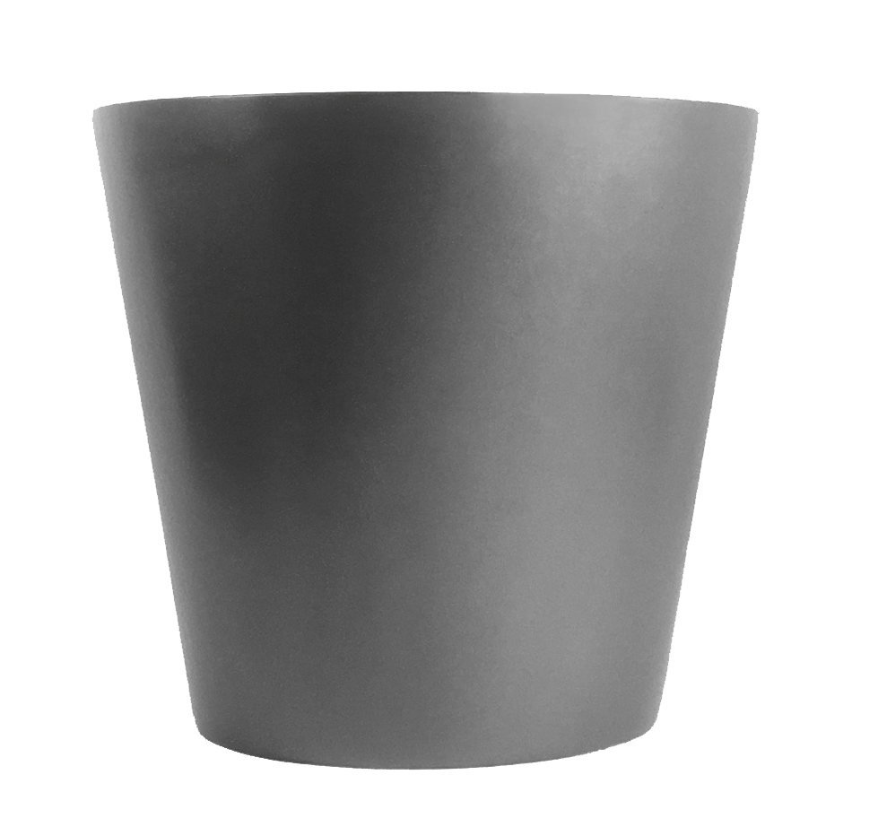 Fiberglass Plant Container Barrel